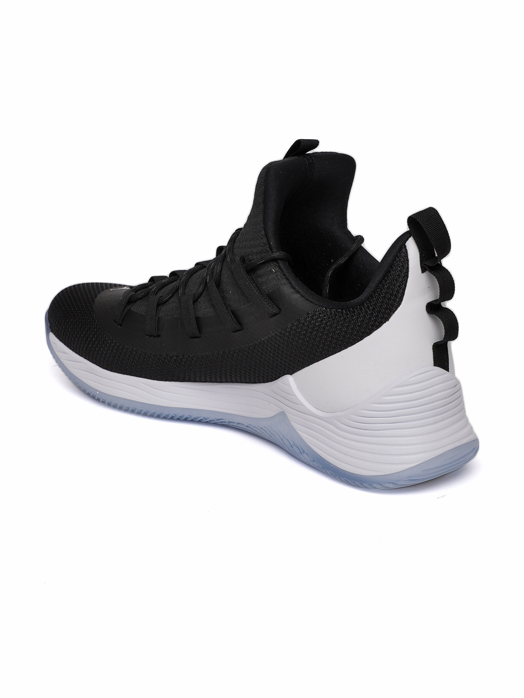Buy Nike Men Black   White Jordan Ultra Fly 2 Low Basketball Shoes ... a3426467d