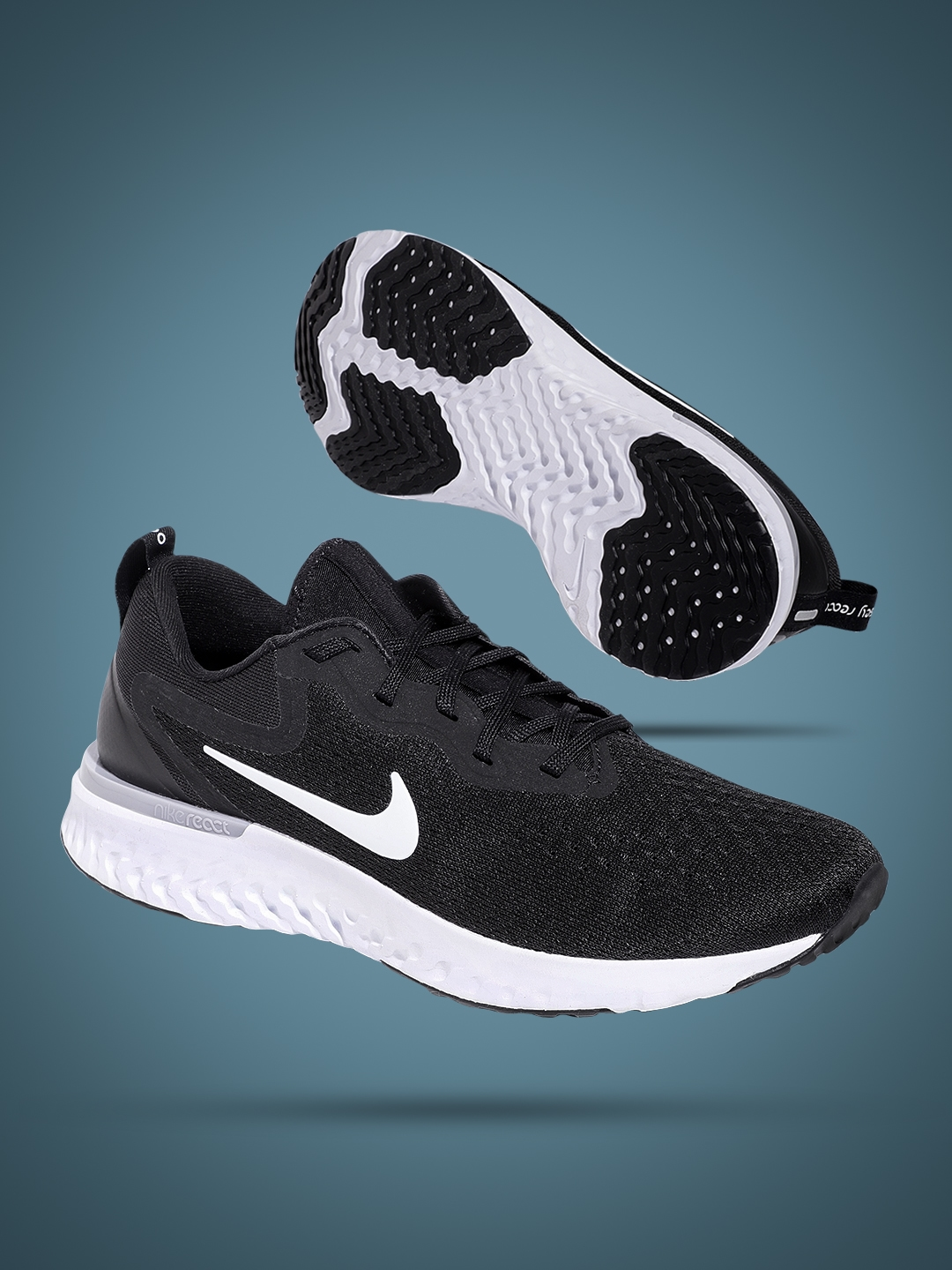best sneakers f2c66 84227 Nike Women Black Odyssey React Running Shoes. Best Price  ...
