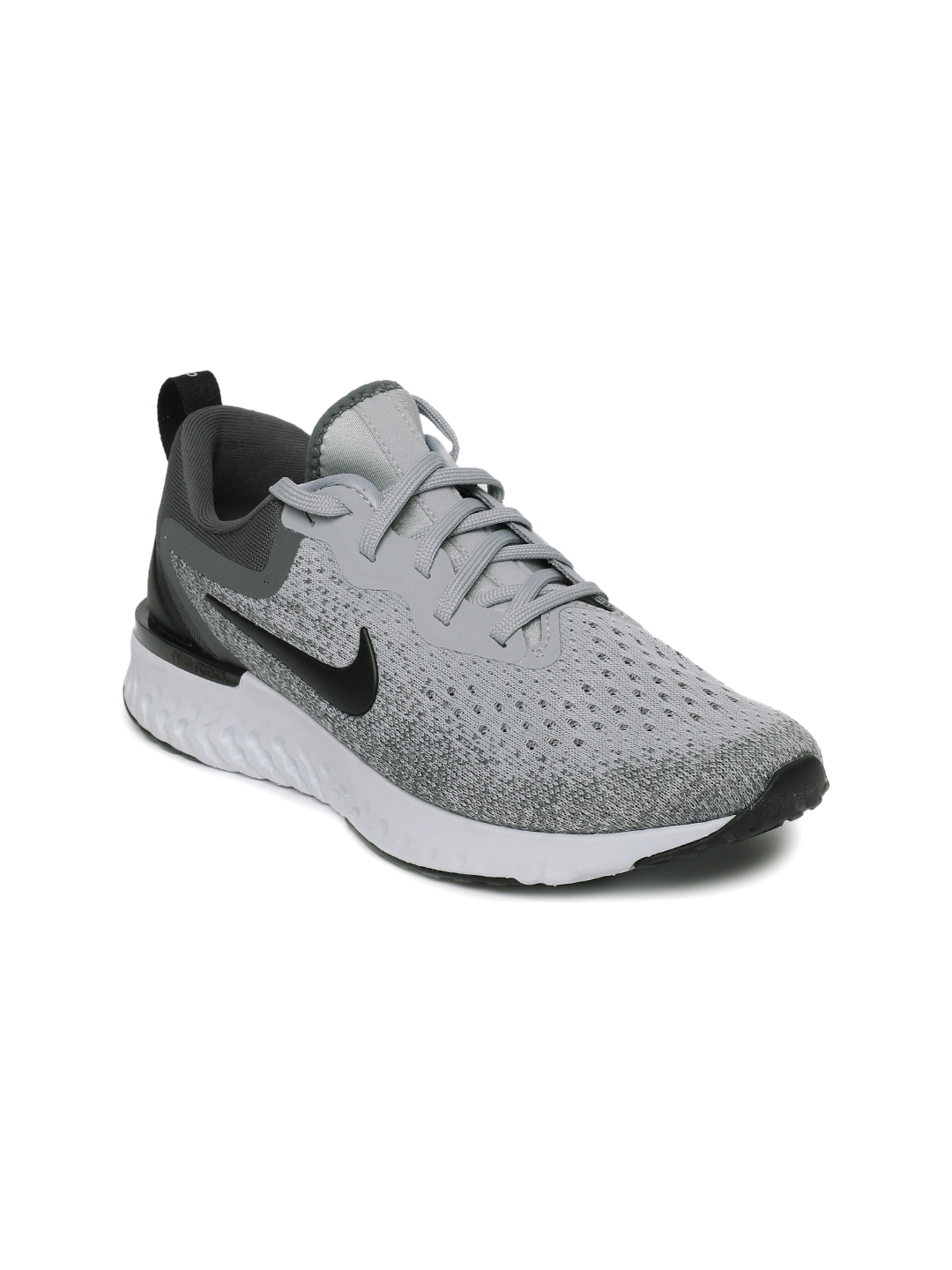47facdef88bdd Buy Nike Women Grey   Black Odyssey React Running Shoes - Sports ...