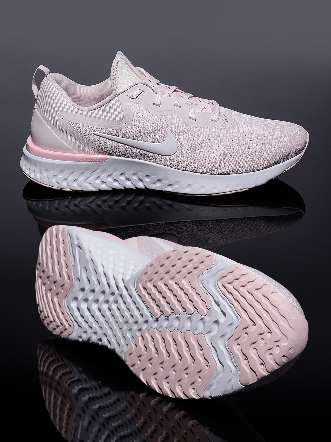 04ec44185415f Buy Nike Women Pink Odyssey React Running Shoes - Sports Shoes for ...