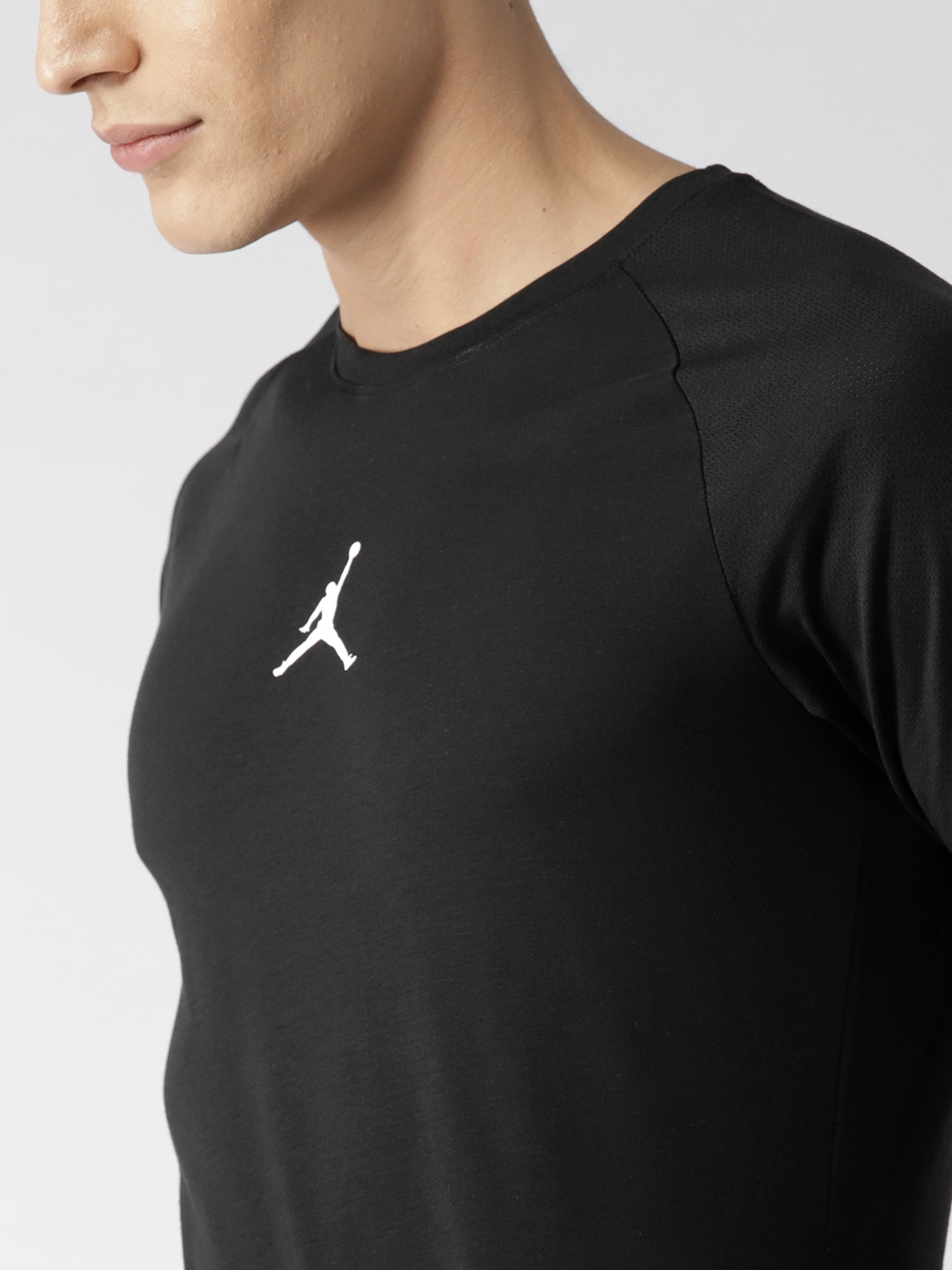 new concept 1ac79 720da Buy Nike Black Solid 23 ALPHA Dry SS Training T Shirt - Tshirts for ...