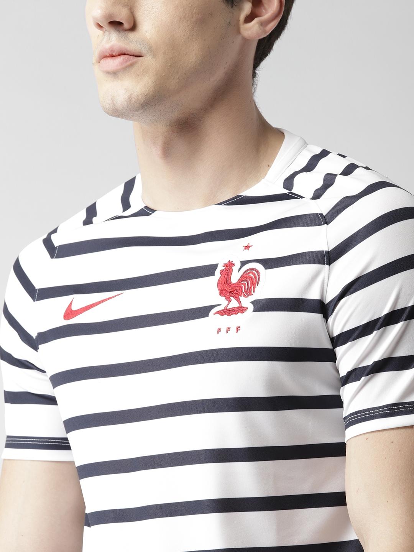 e423647d33a Buy Nike Men Navy & White FFF Dry Squad SS GX Football T Shirt ...