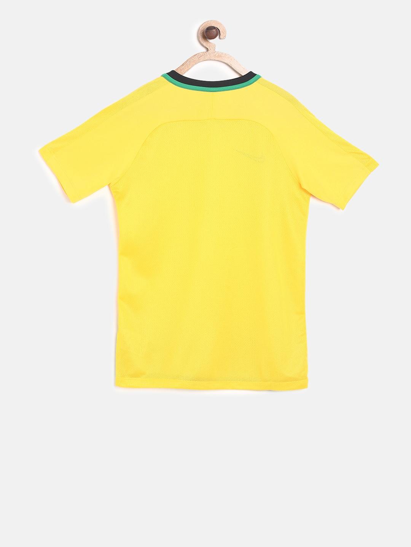 b4f865da Buy Nike Boys Yellow Printed Round Neck T Shirt - Tshirts for Boys ...