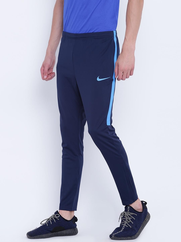 383fe960d Buy Nike Men Navy AS Dry Academy KPZ Slim Fit Football Track Pants ...