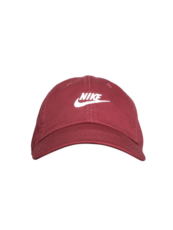 70660036d5b Buy Nike Unisex Maroon U NSW H86 Futura Solid Cap - Caps for Unisex ...