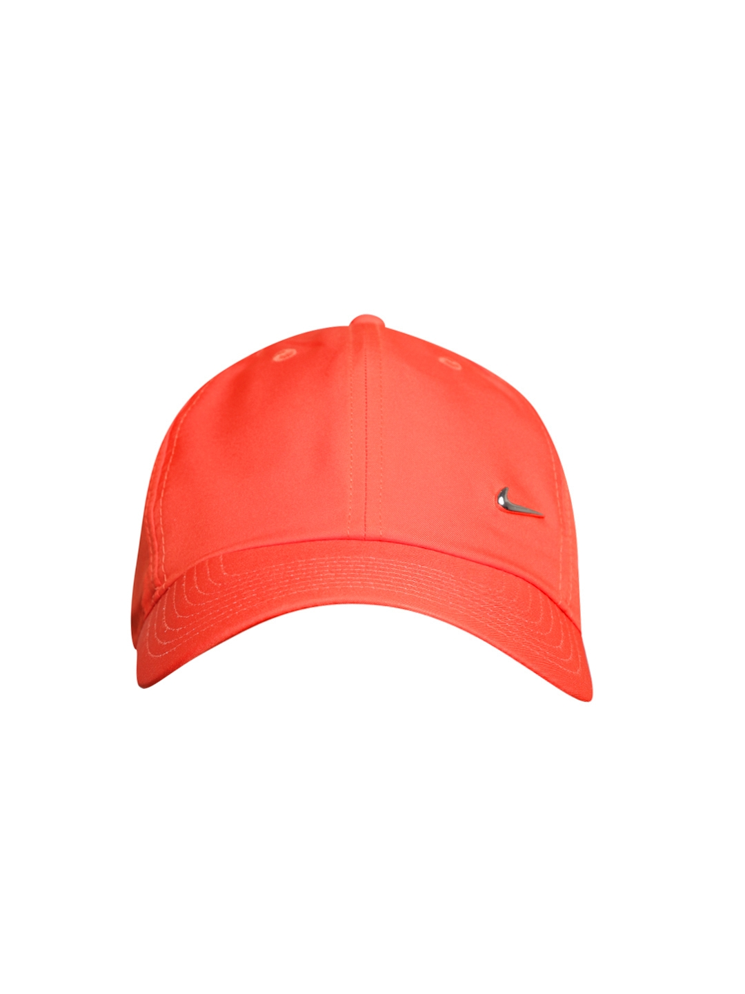 ef3c08622e5 Buy Nike Unisex Coral Orange H86 Metal Swoosh Solid Training Cap ...