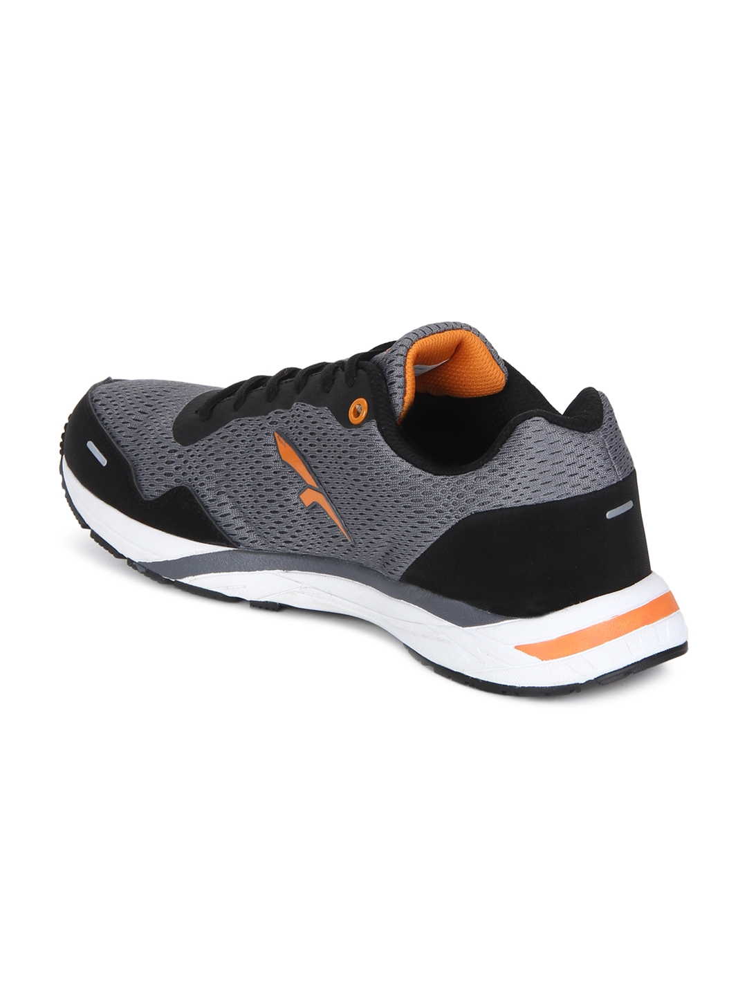 25c2eba5f72 Buy FURO By Red Chief Men Black   Grey Mesh Mid Top Running Shoes ...