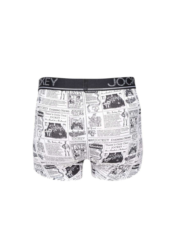 28fd7cea48 Buy Jockey Men Black & White Printed Trunks HG06 0105 - Trunk for ...