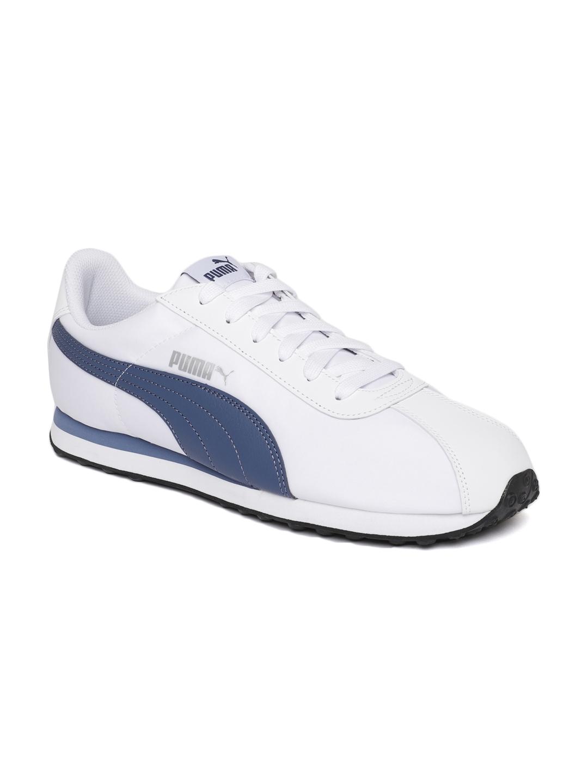 Buy Puma Men White Turin NL Sneakers - Casual Shoes for Men 4426013 ... e94c5c184