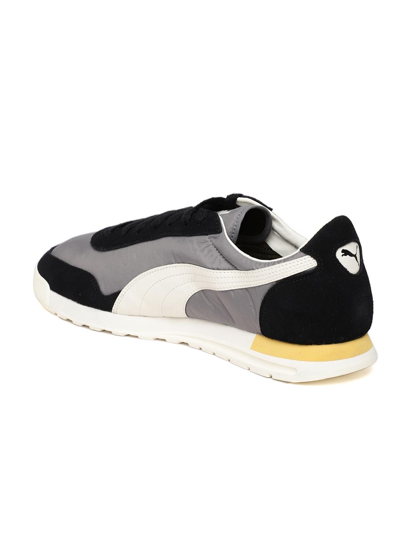 Buy Puma Men Grey   Black Colourblocked Jogger OG Sneakers - Casual ... 49eb61b4efdd