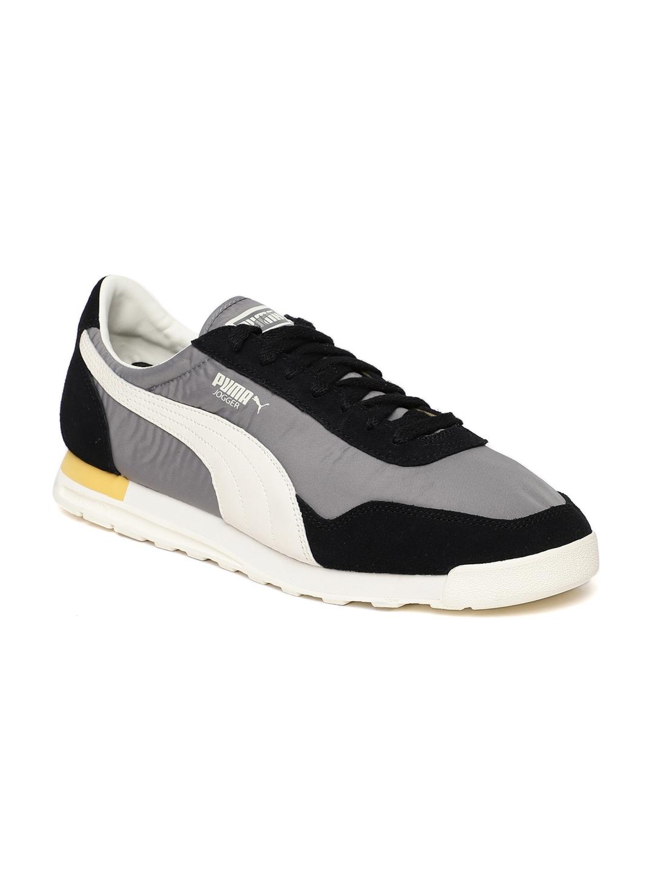 e223cd34199a Buy Puma Men Grey   Black Colourblocked Jogger OG Sneakers - Casual ...