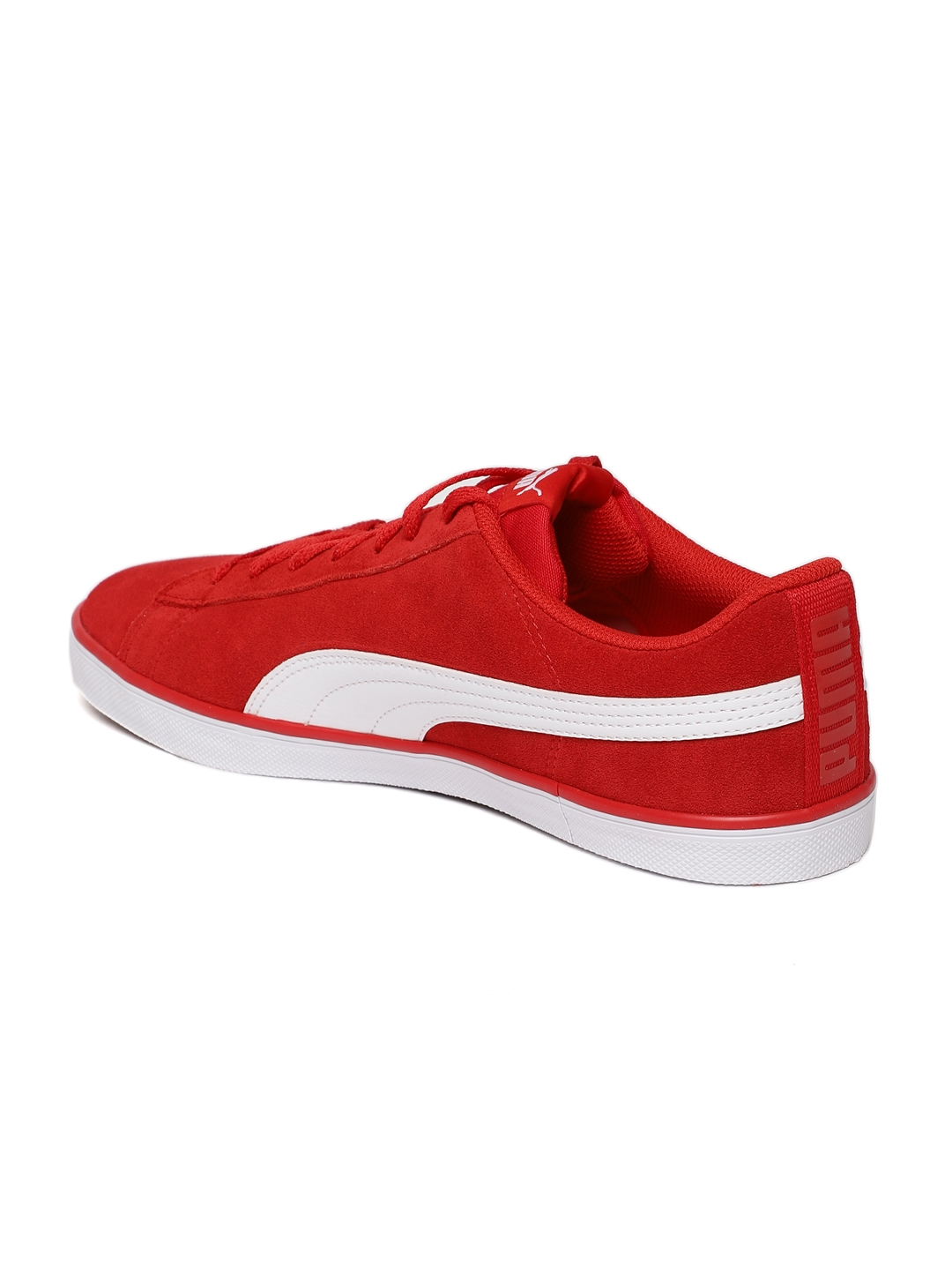 a9c47cae56bd Buy Puma Men Red Urban Plus SD Suede Sneakers - Casual Shoes for Men ...