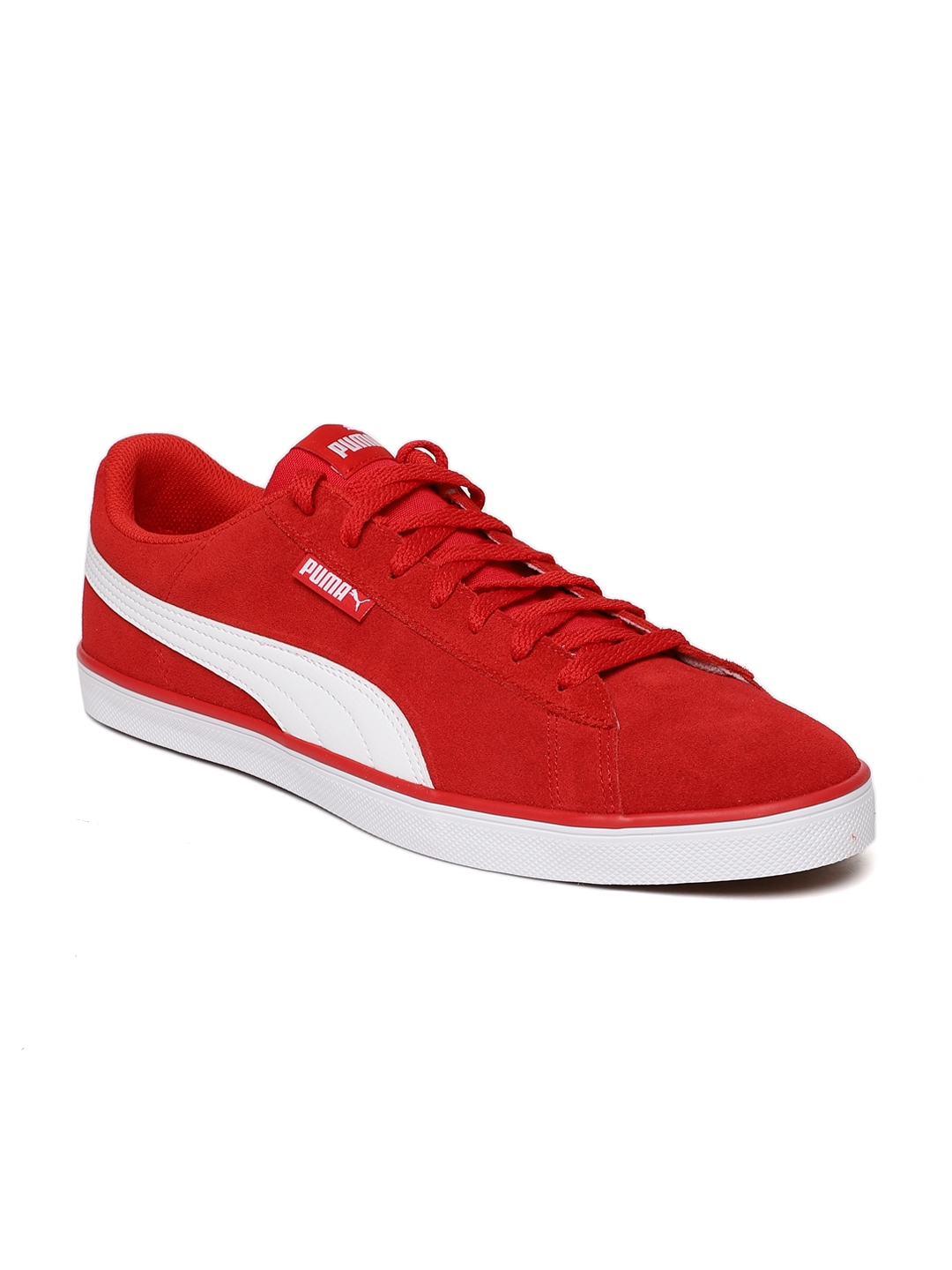 4367b2557413cc Buy Puma Men Red Urban Plus SD Suede Sneakers - Casual Shoes for Men ...