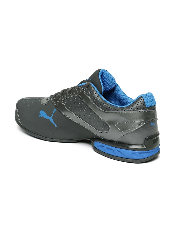 Buy Puma Men Grey Tazon 6 FM Running Shoes - Sports Shoes for Men ... 0e834153a