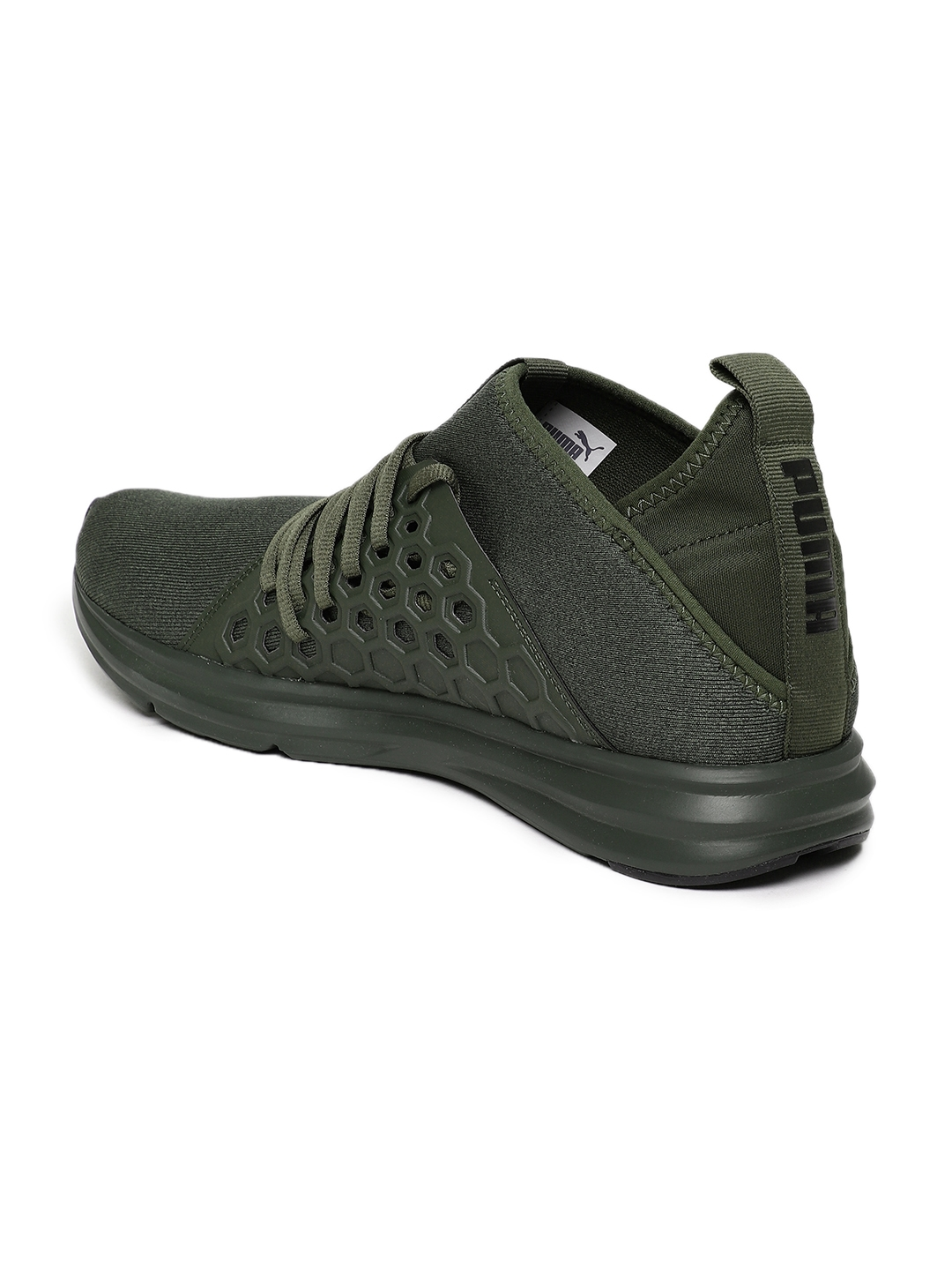 181e7978815b Buy Puma Men Olive Green Enzo NF Mid Training Or Gym Shoes - Sports ...