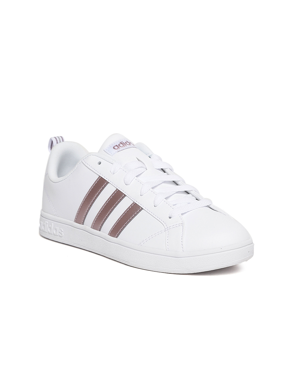 df8cef4d3b93 Buy ADIDAS Women White VS Advantage Tennis Shoes - Sports Shoes for ...