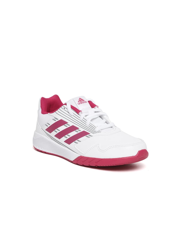 size 40 2ea2f 438c8 ADIDAS Unisex White   Pink ALTARUN K Running Shoes
