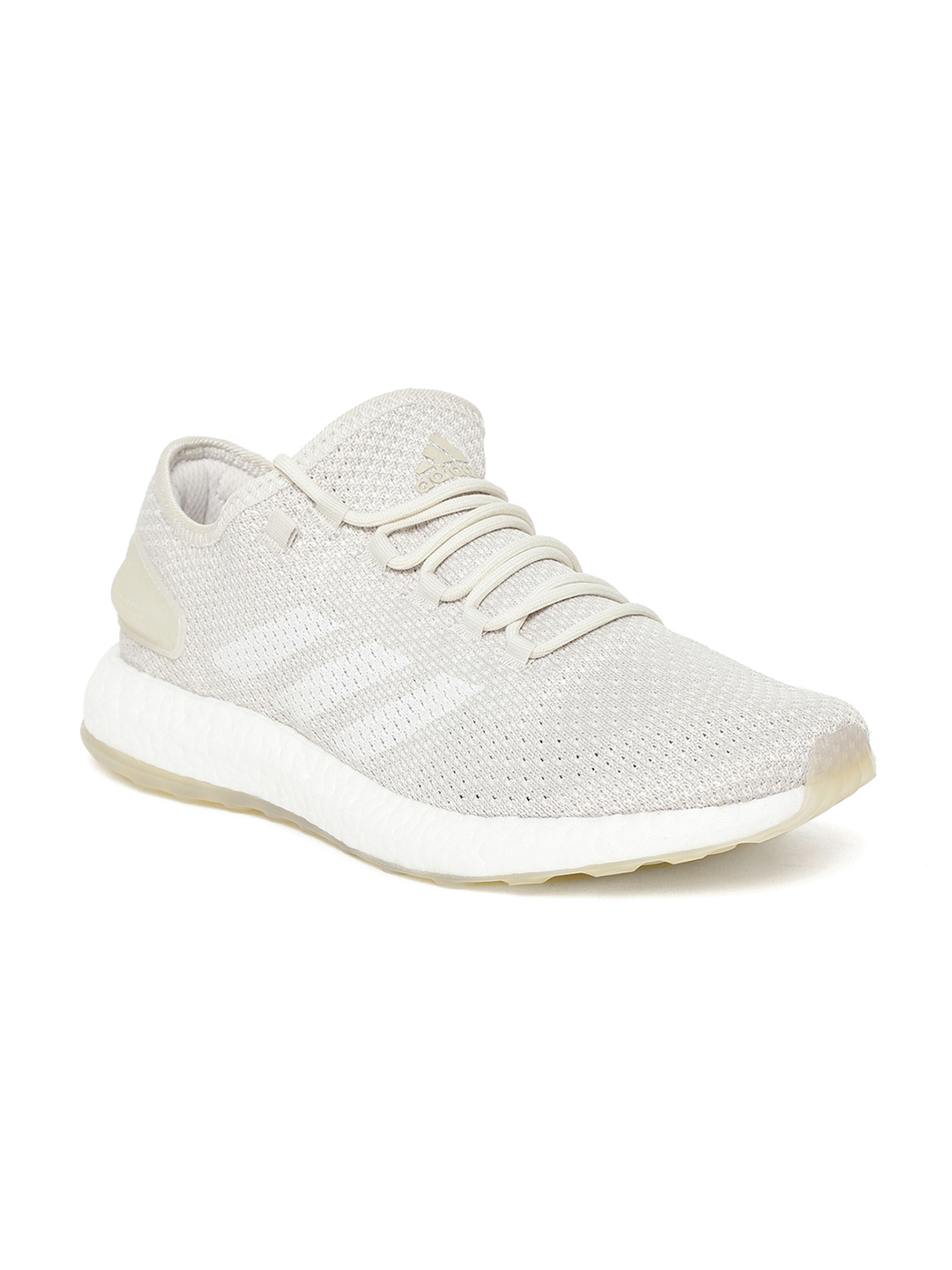 c3bb71a9b32b2 Buy ADIDAS Men Off White Pureboost Clima Running Shoes - Sports ...