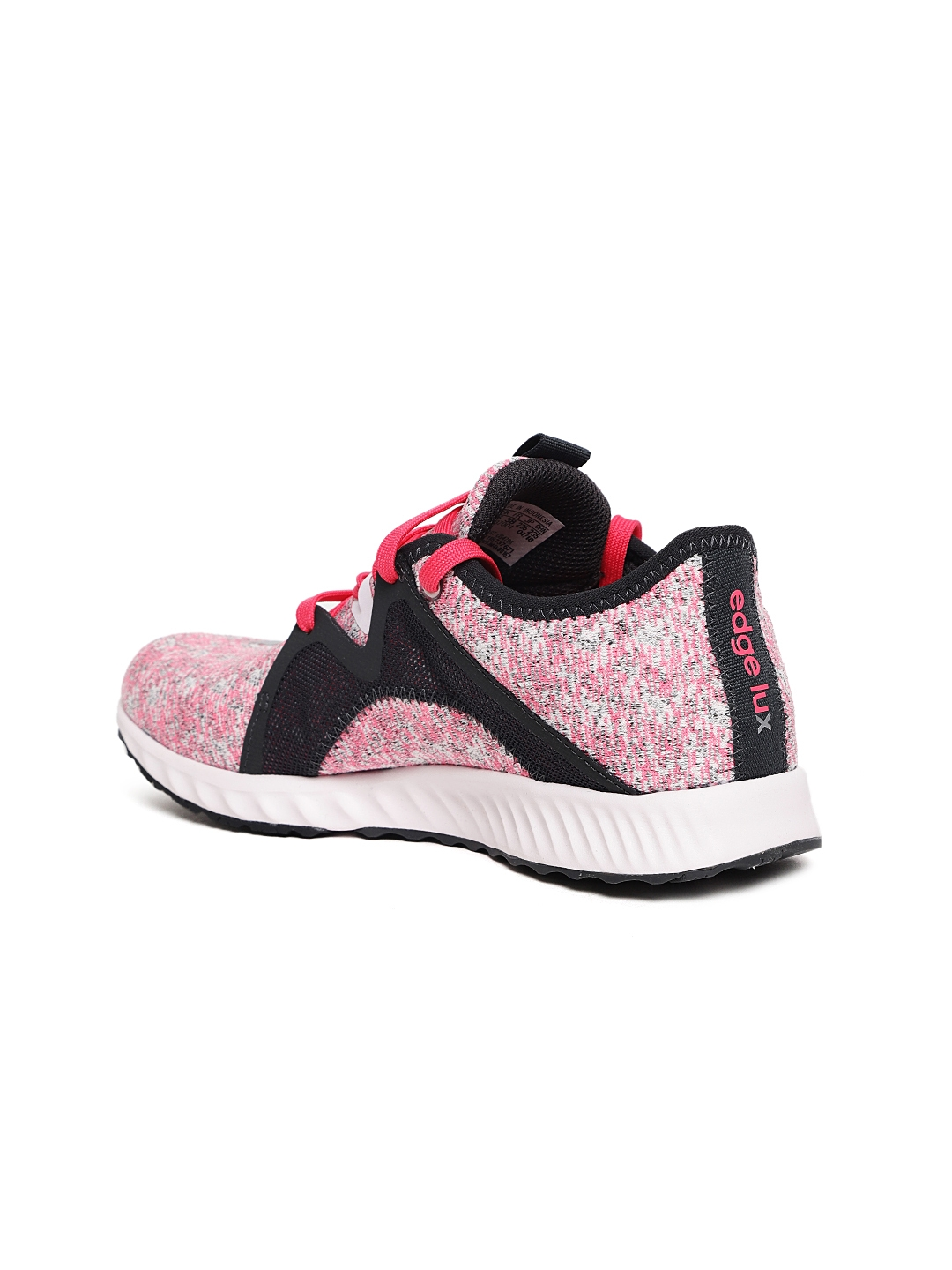2fddac1f7c1 Buy ADIDAS Women Pink   Black Edge Lux 2 Woven Design Running Shoes ...