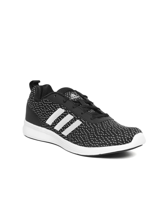 7b8e60c1e1d Buy ADIDAS Women Black   White ADIRAY X Woven Design Running Shoes ...
