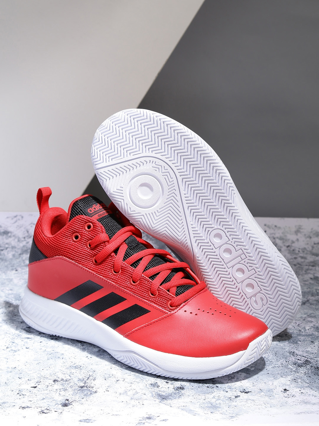 separation shoes 20813 43f79 ADIDAS Men Red CF ILATION 2.0 Basketball Shoes