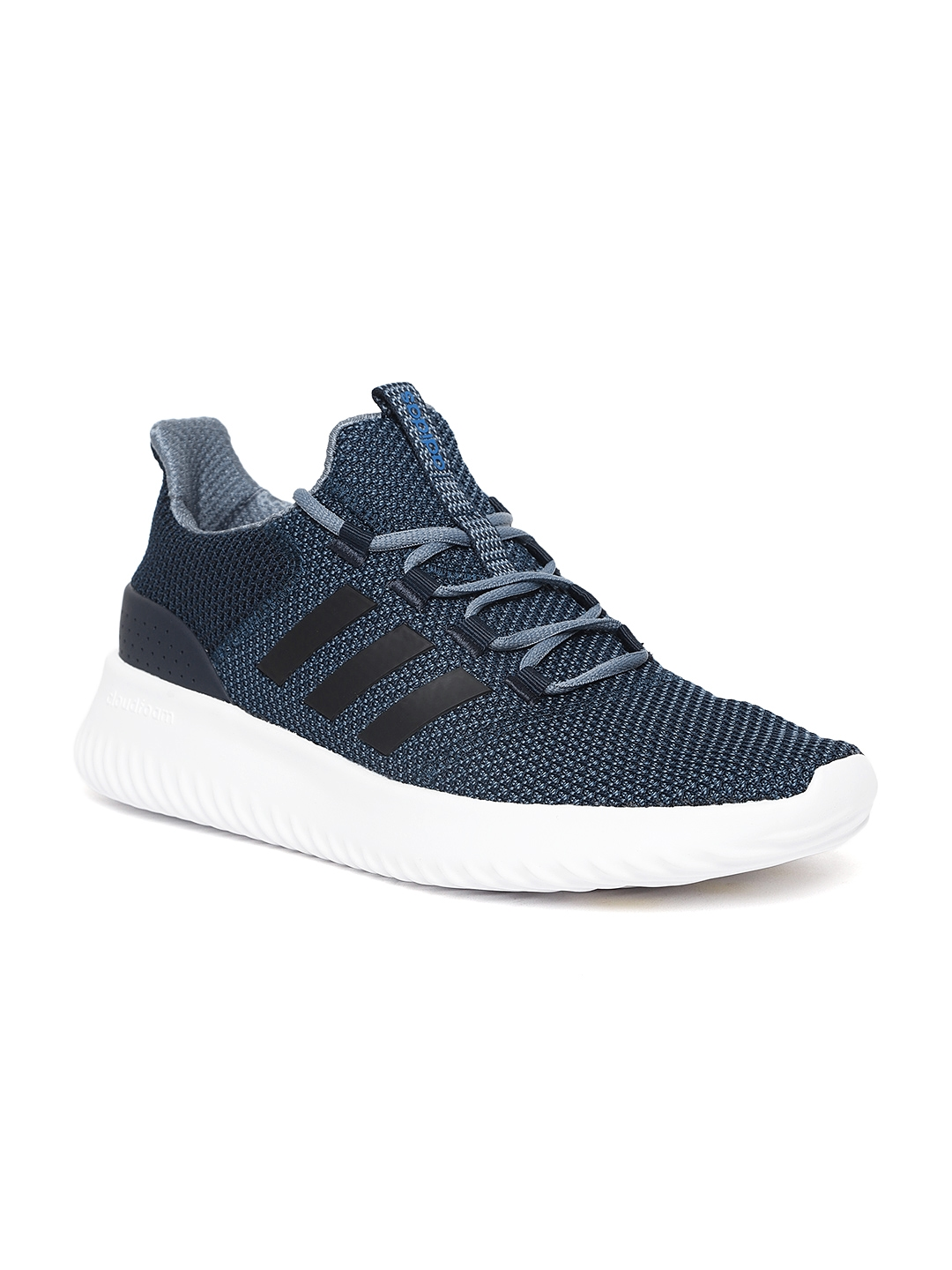2370b29915f1fa Buy ADIDAS Men Navy Cloudfoam Ultimate Running Shoes - Sports Shoes ...