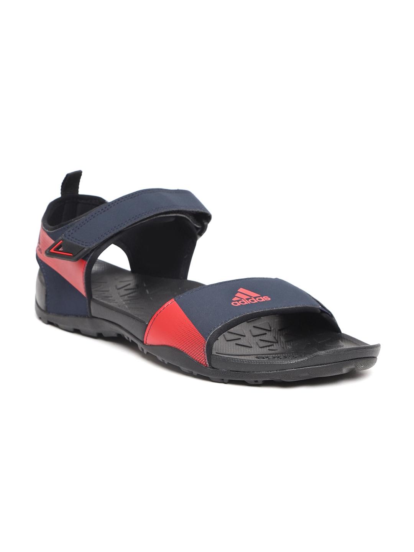 3b19546a2a44 Buy ADIDAS Men Navy Blue   Red CYRAN Sports Sandals - Sports Sandals ...