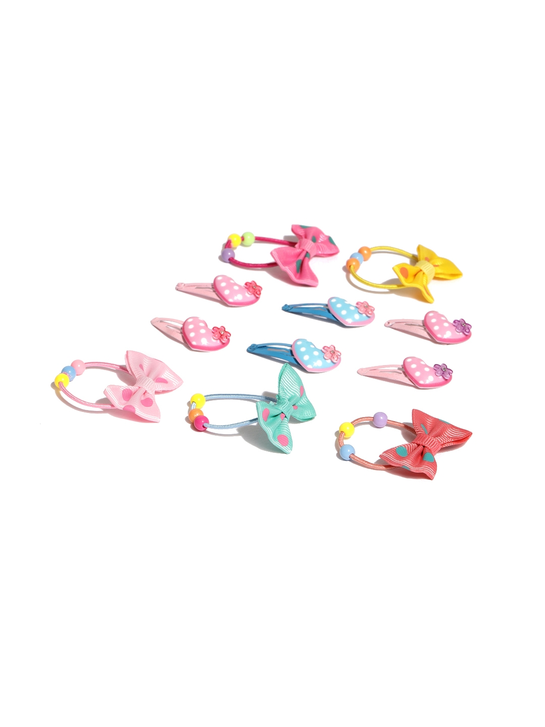 Buy Toniq Kids Hair Accessories Set Of 11 Hair Accessory For Girls