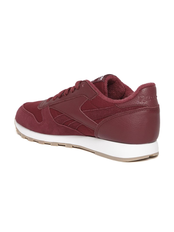 e31e7a4fc04d Buy Reebok Classic Men Maroon Classic Leather ESTL Sneakers - Casual ...