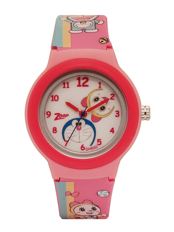 Zoop Doraemon Unisex Cream Analogue watch NL26013PP03