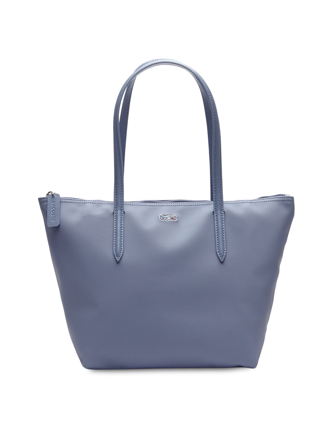 6ef6c2d7e7 Buy Lacoste Blue Solid Tote Bag - Handbags for Women 4453653