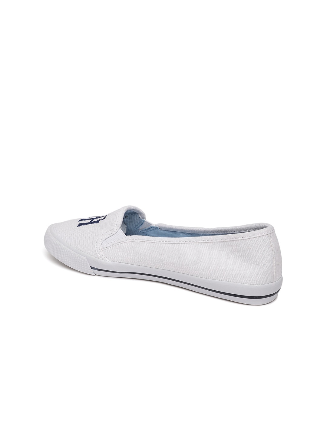 dcc8aed77 Buy Tommy Hilfiger Women White Printed Sneakers - Casual Shoes for ...