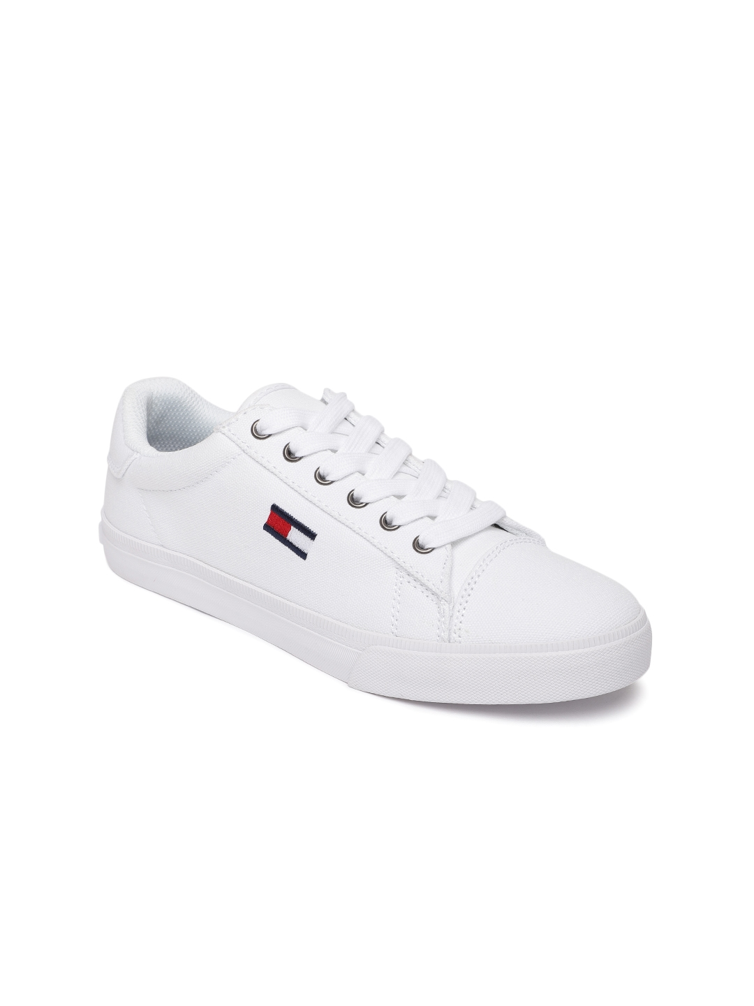 336d51857 Buy Tommy Hilfiger Women White Lava A Sneakers - Casual Shoes for ...
