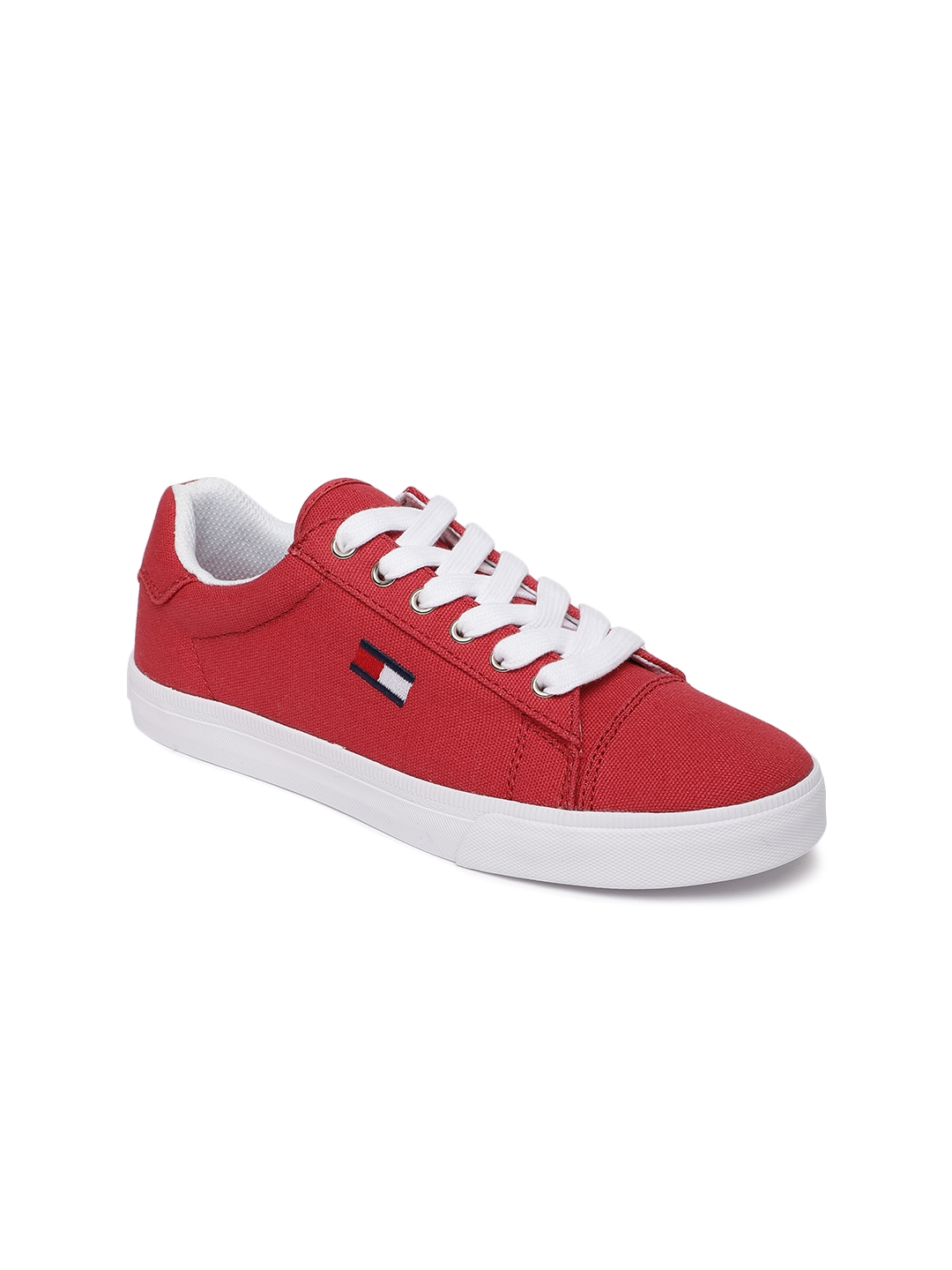 b6fa2cc2f81513 Buy Tommy Hilfiger Women Red Lava A Sneakers - Casual Shoes for ...