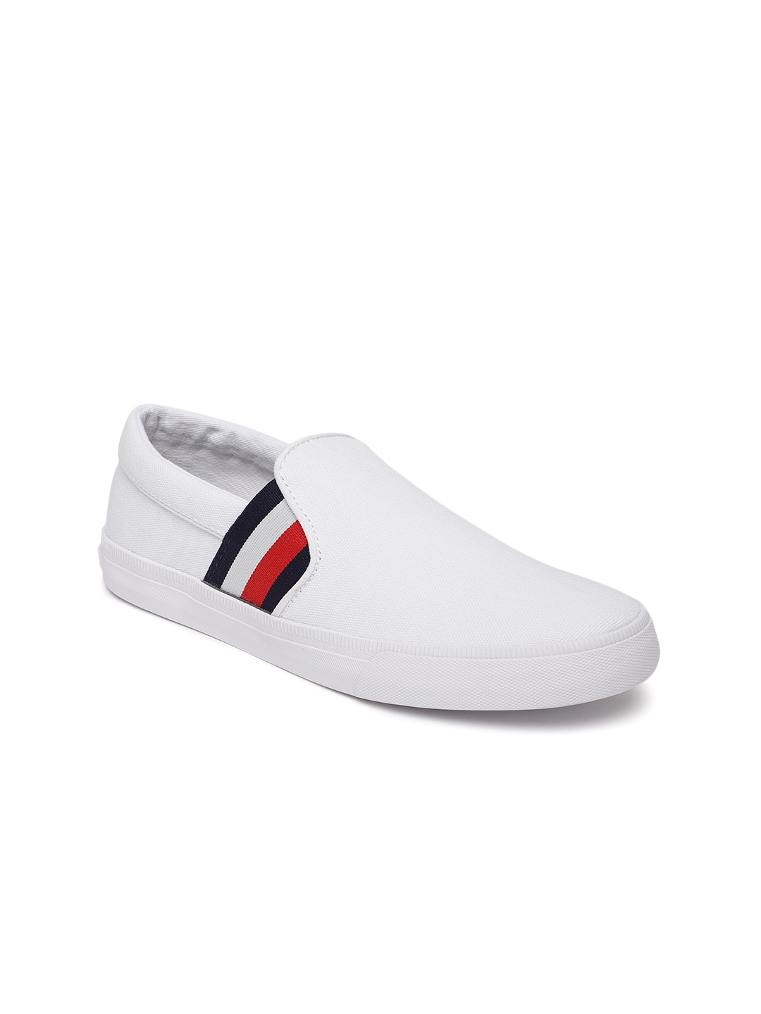 a23fdb51da Buy Tommy Hilfiger Women White Liman A Slip On Sneakers - Casual ...
