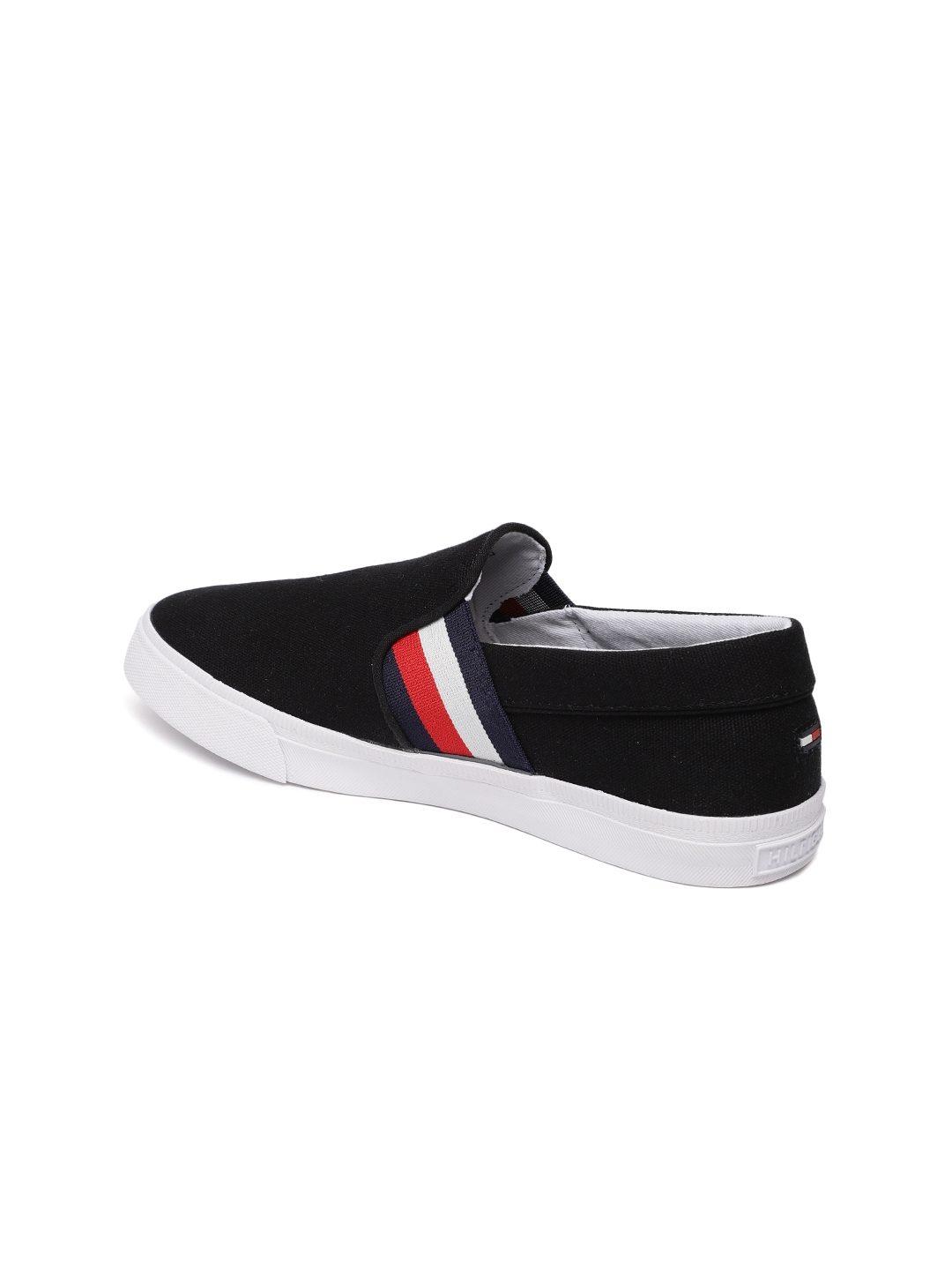 fdbc0992e Buy Tommy Hilfiger Women Black Slip On Sneakers - Casual Shoes for ...