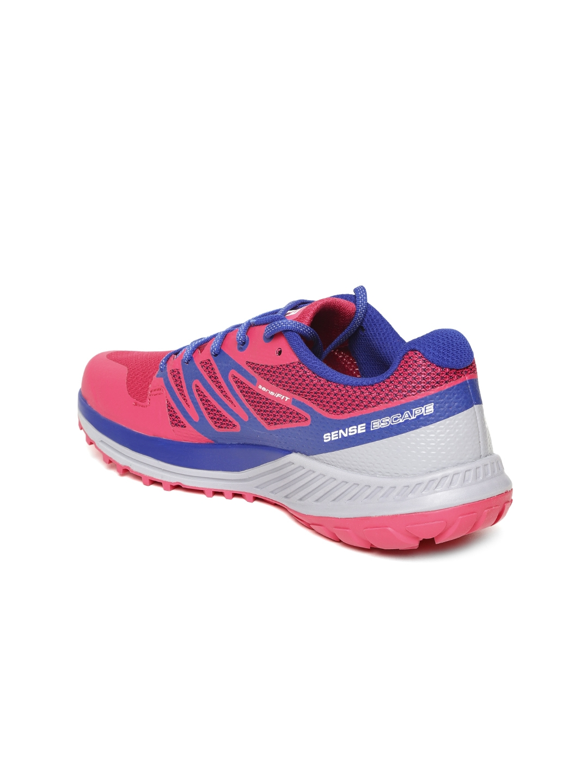 c129d20b7a0a Buy Salomon Women Pink   Blue Sense Escape Running Shoes - Sports ...