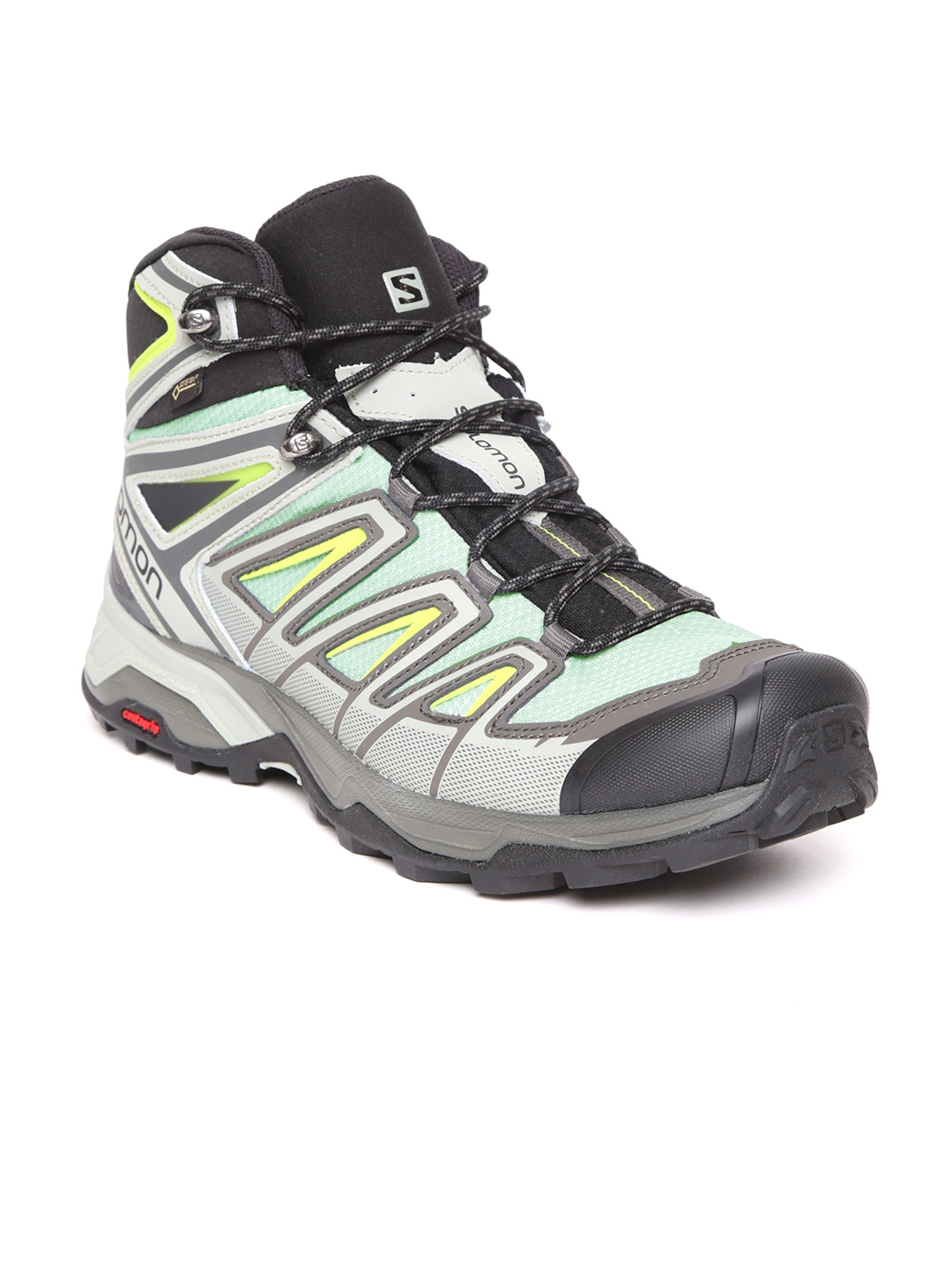 25a0a805caed37 Buy Salomon Men Grey X Ultra 3 GTX Mid Top Trekking Shoes - Sports ...
