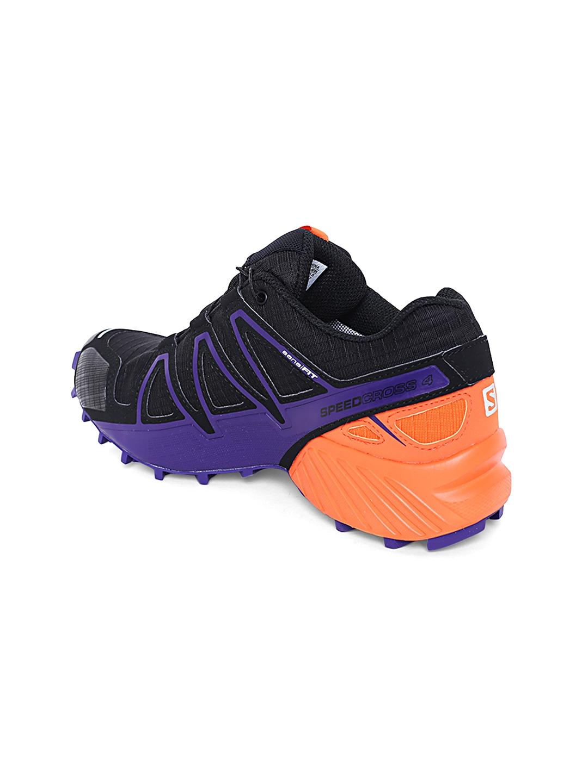 a63a518d4cb Buy Salomon Women Black   Orange Speedcross 4 GTX LTD Running Shoes ...