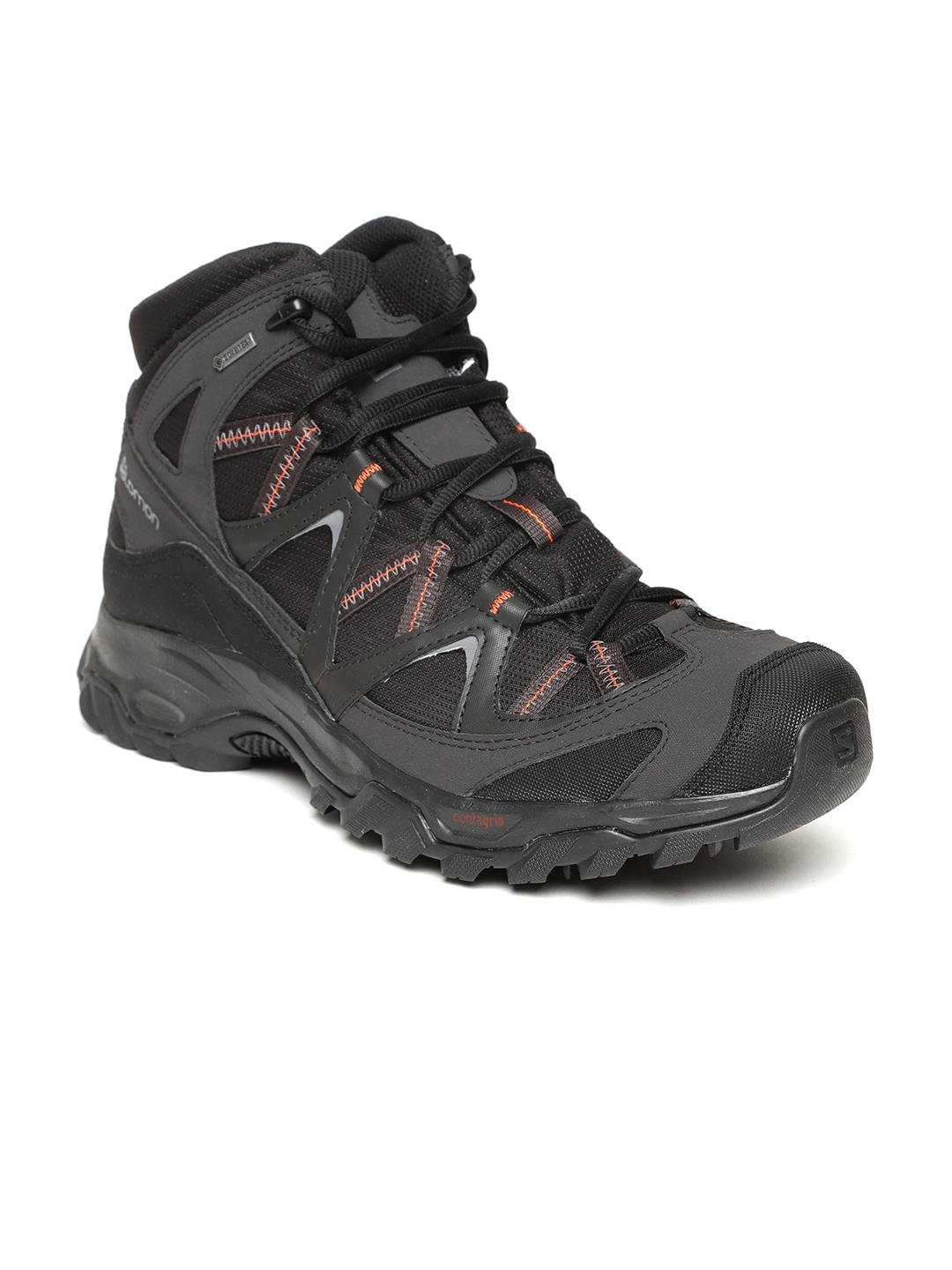 bc6a3bf5bc59 Buy Salomon Men Black CAGLIARI Mid GTX Mid Top Trekking Shoes ...