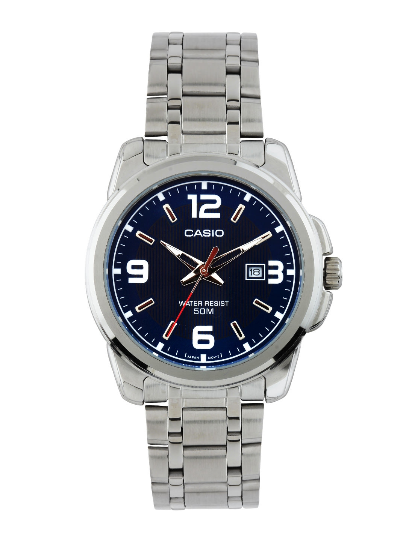 CASIO Enticer Men Navy Blue Dial Analog Watch MTP 1314D 2AVDF   A551