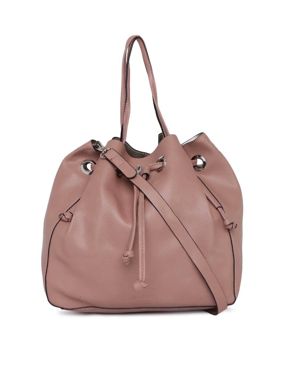 0579232ca5 Buy DressBerry Pink Solid Shoulder Bag - Handbags for Women 4606434 ...