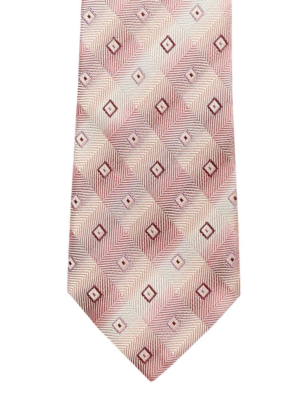 b9bcb89cc2b1 Buy Alvaro Castagnino Beige & Beige Printed Skinny Tie - Ties for ...