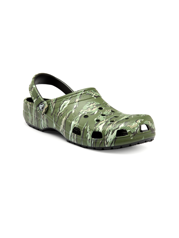 e173c1af9 Buy Crocs Men Green Classic Graphic Clogs - Sandals for Men 4626282 ...