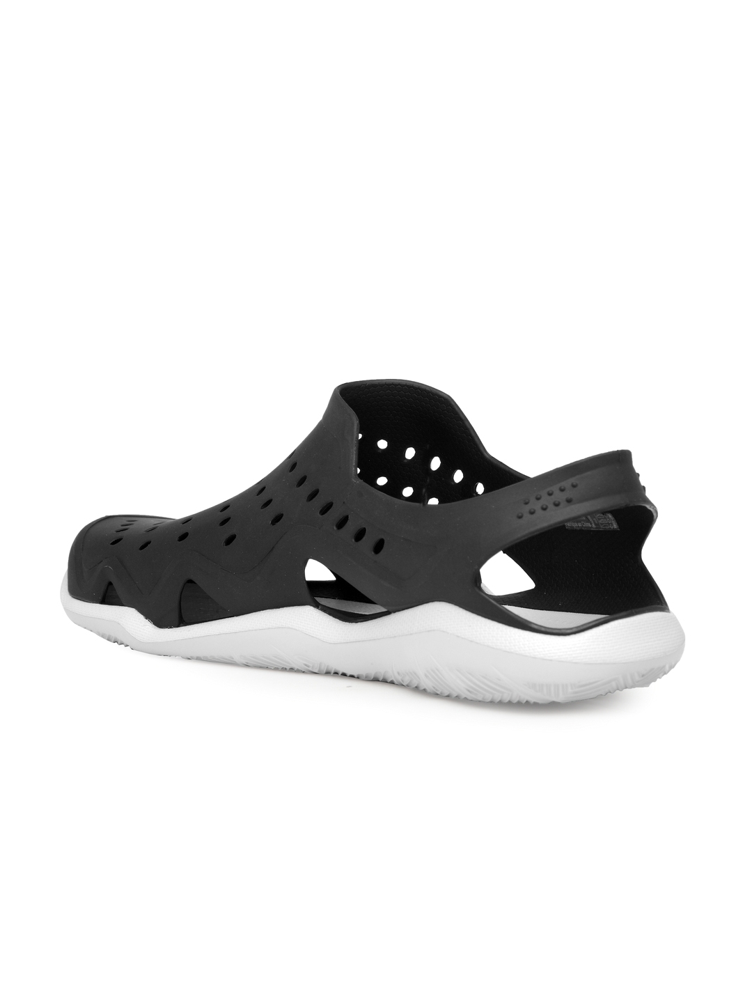 8b76f4d359fd4f Buy Crocs Men Black Swiftwater Wave M Clogs - Sandals for Men ...