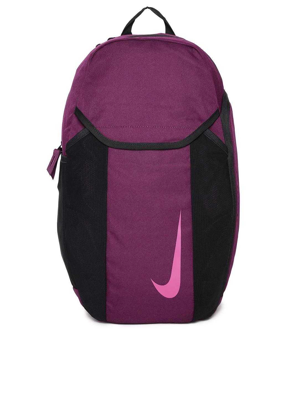 7909c9f3c Nike Unisex Burgundy & Black NK ACDMY BKPK 2.0 Brand Logo Backpack