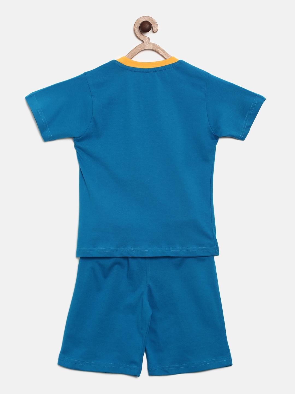bef0397cc Buy Chhota Bheem Boys Blue Printed T Shirt With Shorts - Clothing ...