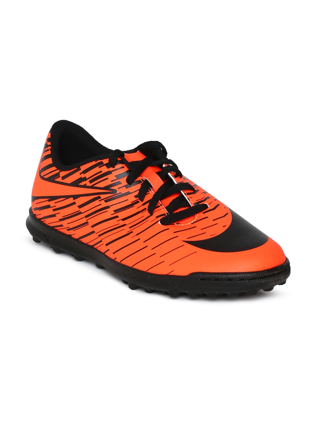 buy online 48ecd 01cb0 Nike Unisex Orange   Black JR BRAVATA II TF Football Shoes