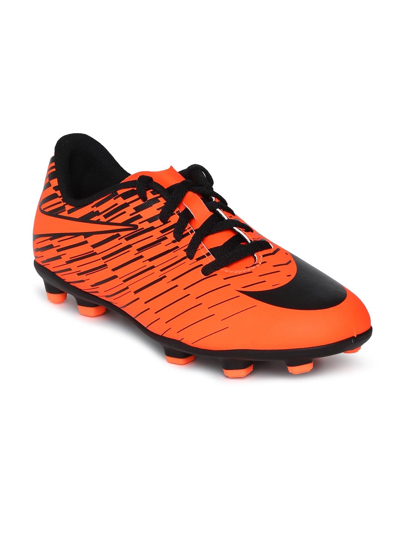 Buy Nike Kids Orange   Black JR NIKE BRAVATA II FG Football Shoes ... 5aeac018c9f6