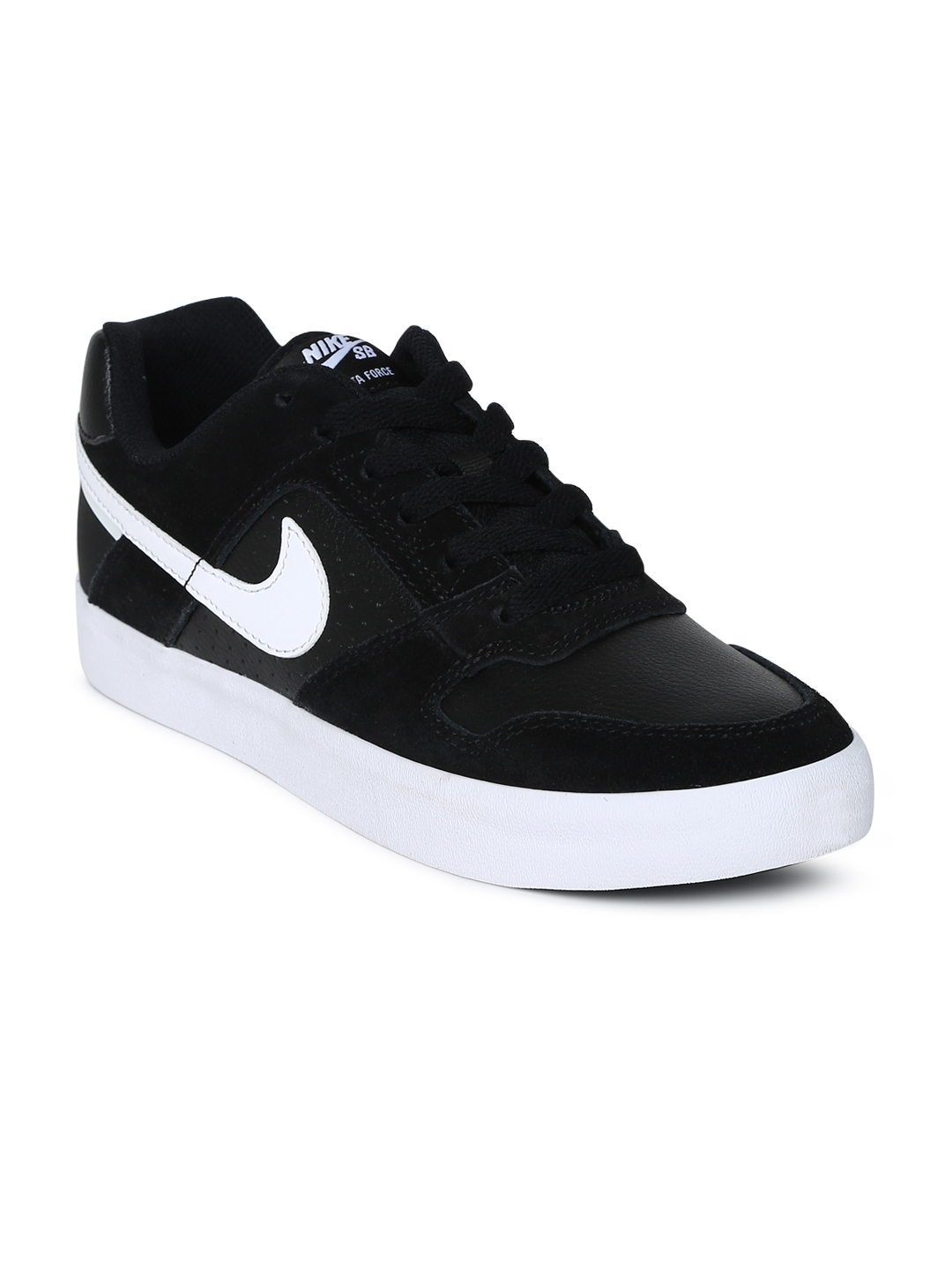 62cd648b6cd Buy Nike Men Black SB DELTA FORCE VULC Skateboarding Shoe - Sports ...